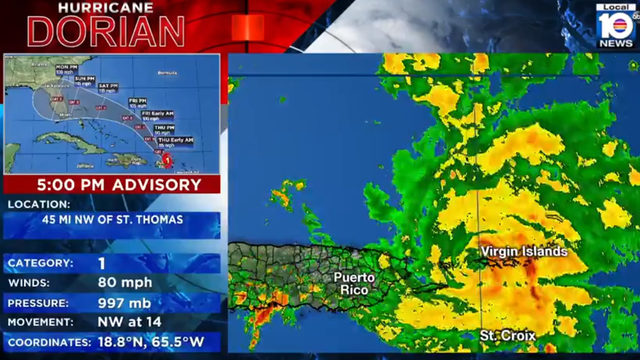 WATCH LIVE: Real-time information on Hurricane Dorian from the Local 10…