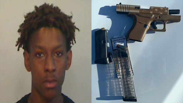 Man, 19, found with stolen gun, oxycodone pill during traffic stop, deputies say