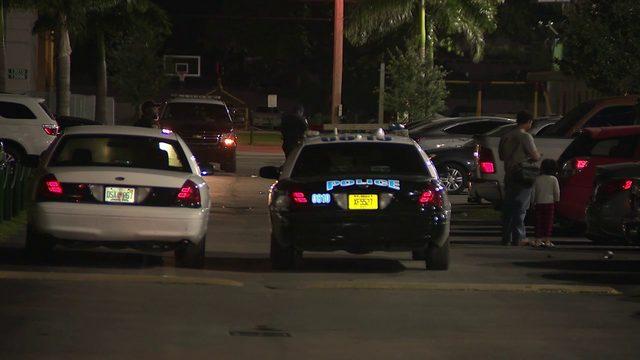 Man shot in arm at Opa-locka apartment complex