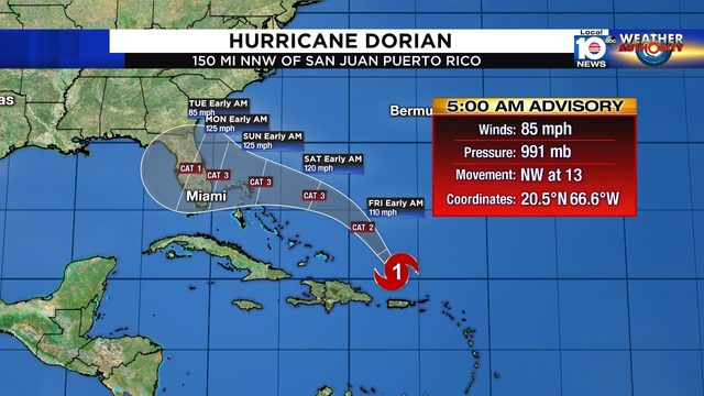 All of Florida should prepare for threat of Hurricane Dorian
