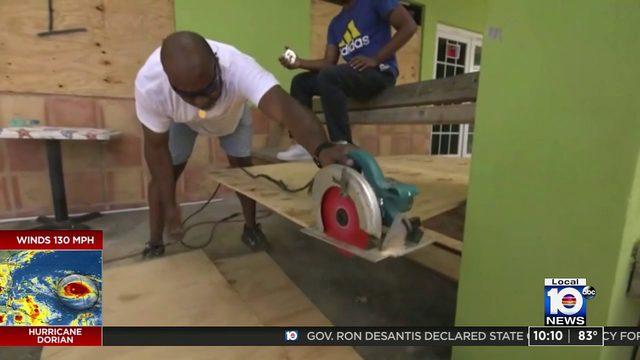 Bahamas braces for hit as Hurricane Dorian roars toward Florida