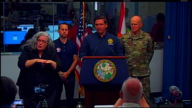 'Floridians need to be prepared' for Hurricane Dorian, DeSantis says