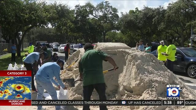 Free sand now available at various locations throughout South Florida