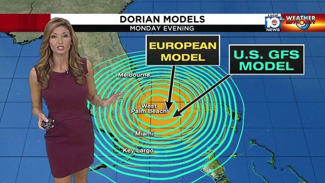 Hurricane Dorian 11 AM Advisory - Julie Durda and Brandon Orr have the…
