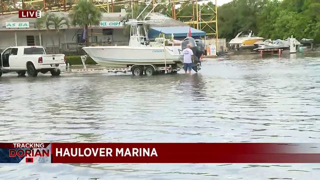 King tides bring flooding to South Florida ahead of Dorian