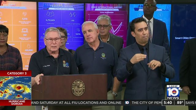 Miami-Dade mayor signs emergency declaration ahead of hurricane