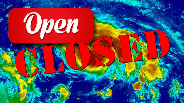 What's open, closed in South Florida due to Hurricane Dorian