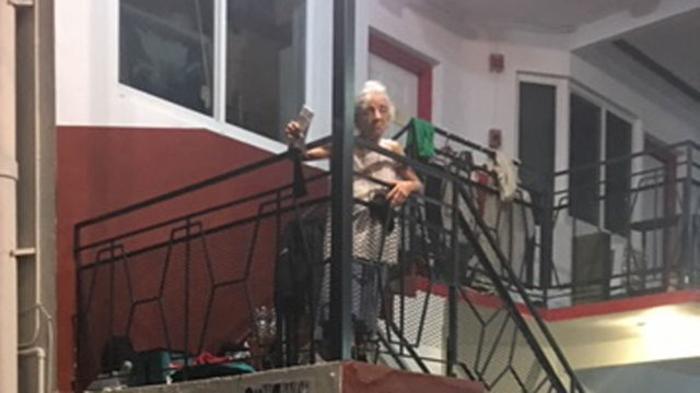 With days away from Hurricane Dorian, landlord kicks out elderly woman…