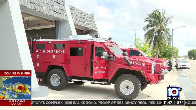 Miami Fire Rescue makes history with new armored vehicle