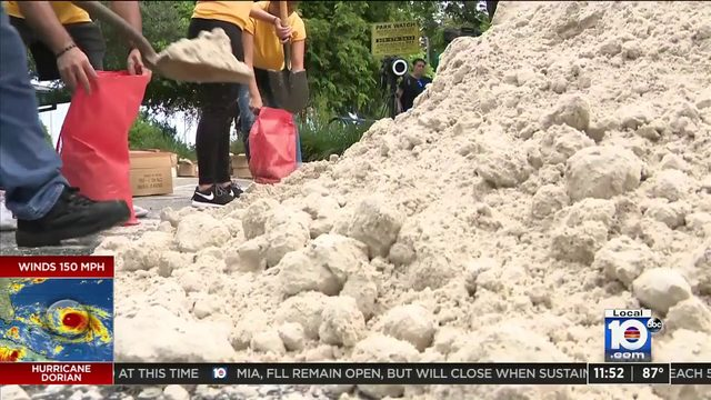 No residency requirement to pick up sandbags at Norman & Jean Reach Park