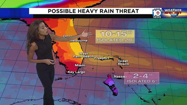South Florida faces heavy rain threat with Hurricane Dorian