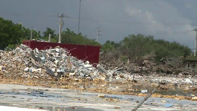 Debris-filled construction site has Pembroke Pines residents concerned…