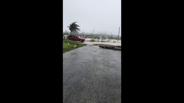 Dorian pummels Bahamas as Category 5 hurricane