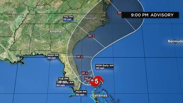 FLL to close Monday ahead of Hurricane Dorian