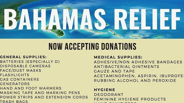 Here's how to donate, help Bahamas recover from Dorian