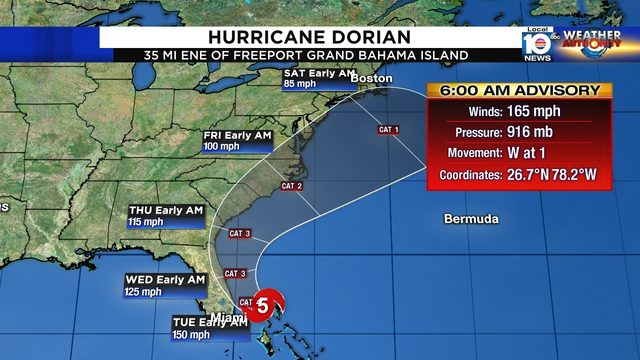 Hurricane Dorian causes catastrophic damage in Bahamas