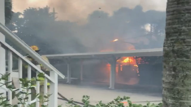 Downed power lines cause 2 fires in Fort Lauderdale