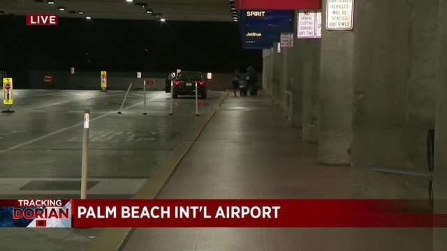 Palm Beach International Airport closes as county remains under hurricane watch