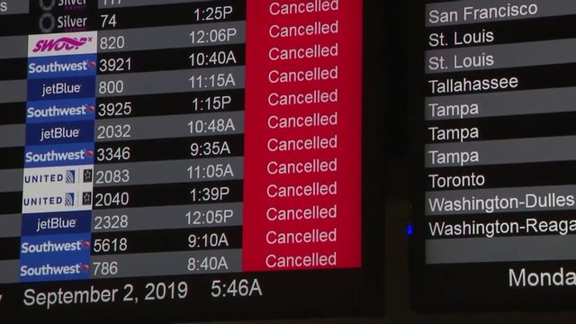Travelers rearrange flights ahead of Fort Lauderdale airport closing