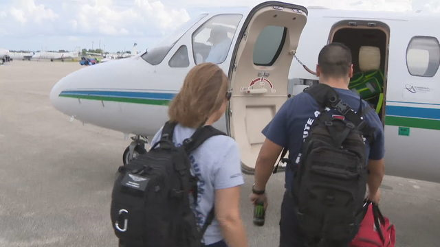 Medical teams head to Bahamas to help the injured
