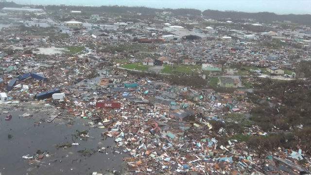 VIDEO: Aerial views show complete devastation in Bahamas