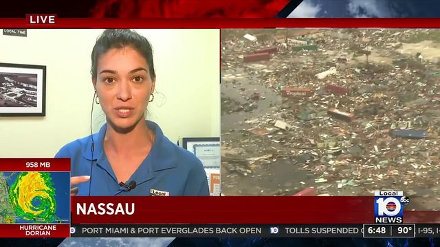 Local 10's Jenise Fernandez recounts Abaco Islands devastation after…