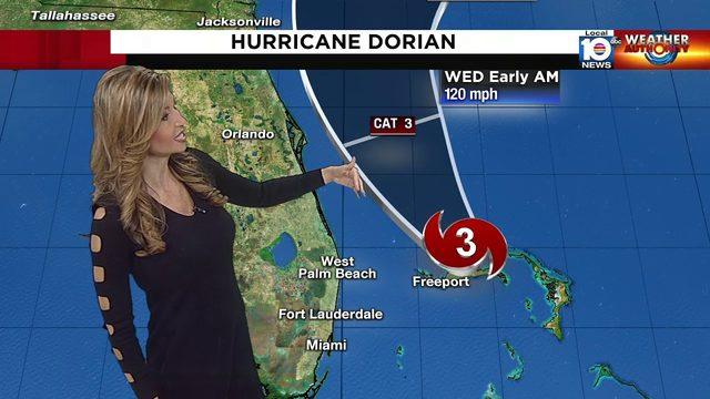 Hurricane Dorian 5 a.m. advisory Sept. 3