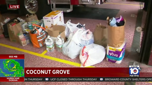 Local 10 Careforce now collecting donations for Bahamas at Coconut Grove church