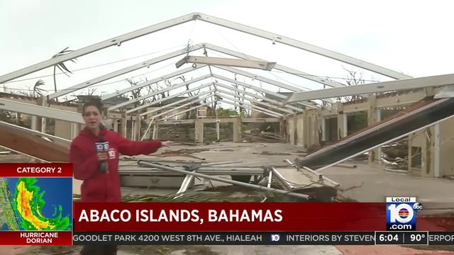 Local 10's Jenise Fernandez gives firsthand look at damage, devastation…