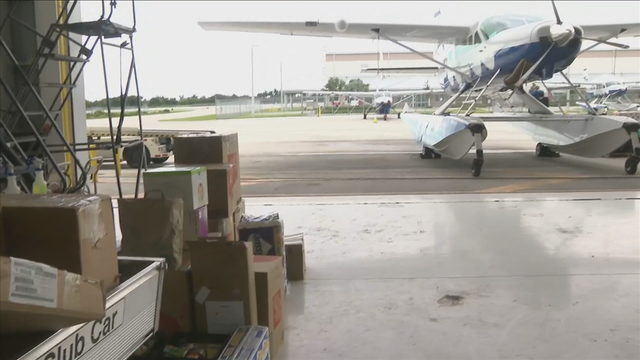 Planes with supplies, medical help head from South Florida to Bahamas