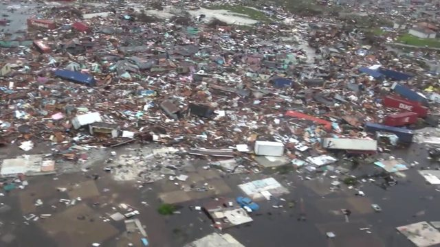 Total destruction of Abaco Islands seen in new aerial video after Dorian