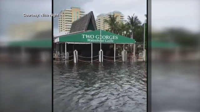 Popular Boynton Beach restaurant floods as Hurricane Dorian lingers