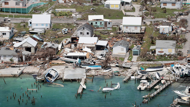 Efforts to provide Bahamas with supplies, relief being slowed due to…