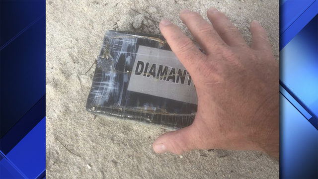 Cocaine washed ashore on Florida beach by Hurricane Dorian