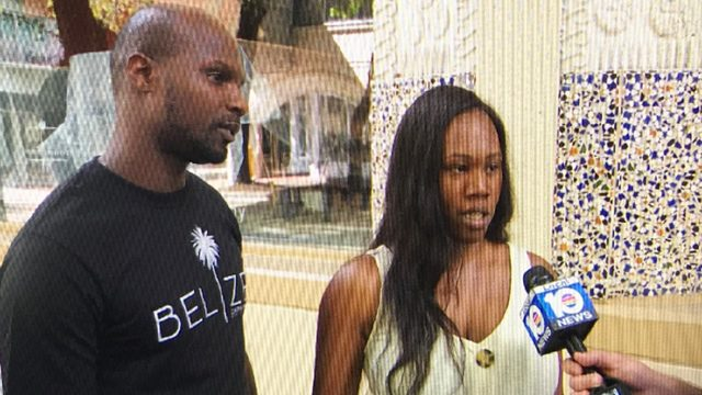 Bahamian newlyweds get stranded in Miami during Hurricane Dorian