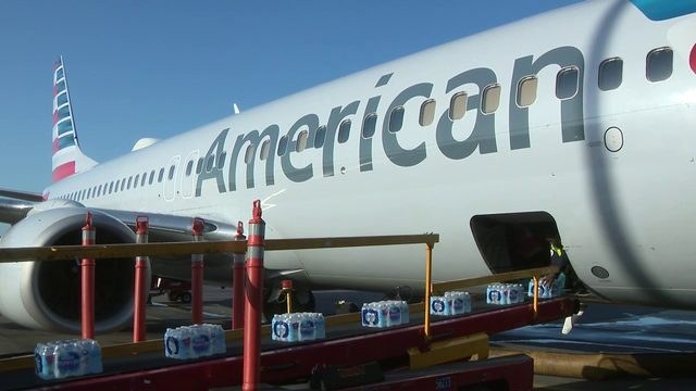 American Airlines delivers relief aid to employees in Bahamas