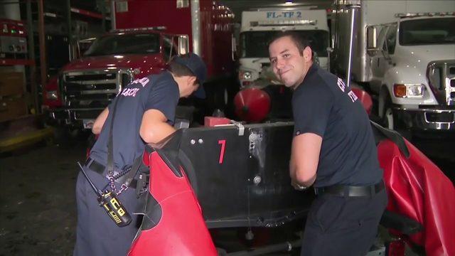 Miami firefighter medics to head to Bahamas