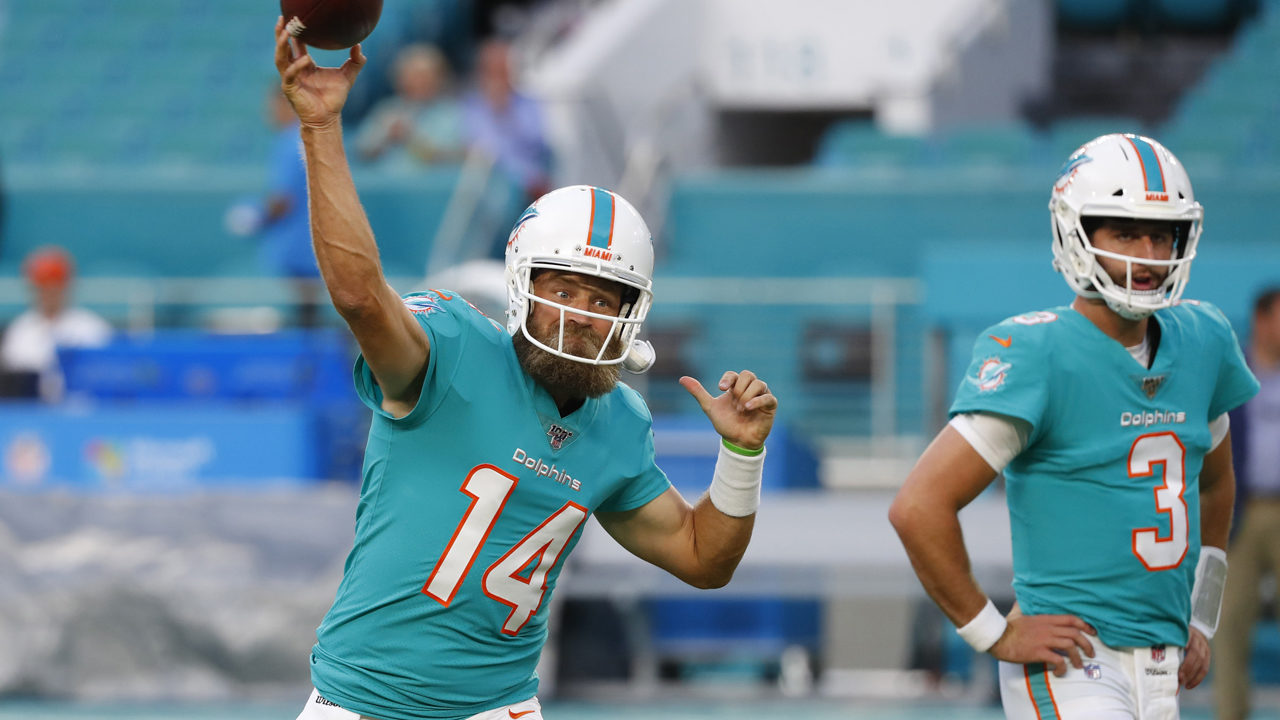 No pain, no gain for the Miami Dolphins