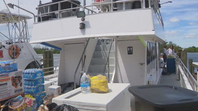 Fishing charter boat owner to head to Bahamas to deliver relief supplies