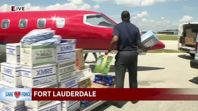 Local 10's Roy Ramos to board flight to Bahamas with relief supplies