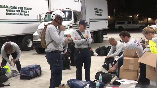 South Florida firefighters head to Freeport to deliver supplies, help…