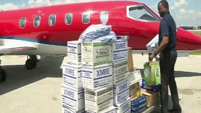 Much-needed supplies finally reaching hard-hit zones in Bahamas