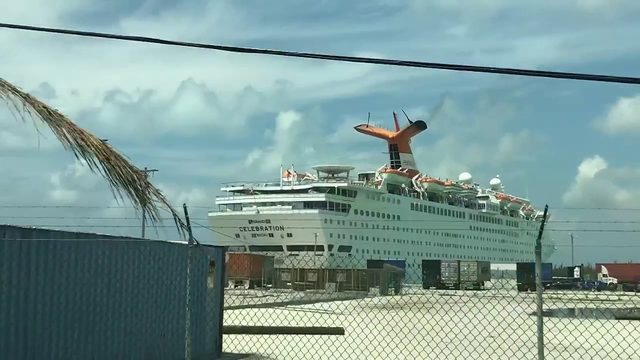 Cruise line helps start rebuilding process in Bahamas after Dorian