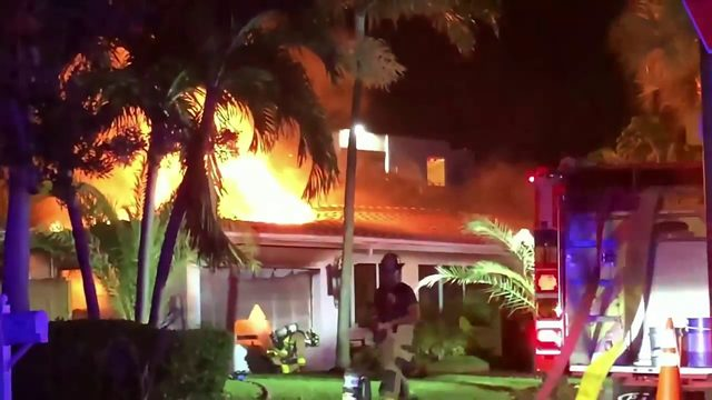 Lauderdale-by-the-Sea house fire lands 5 people in hospital, including 3…