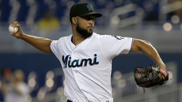 Alcantara 1st Marlins rookie with 2 shutouts since Willis; Miami wins 9-0
