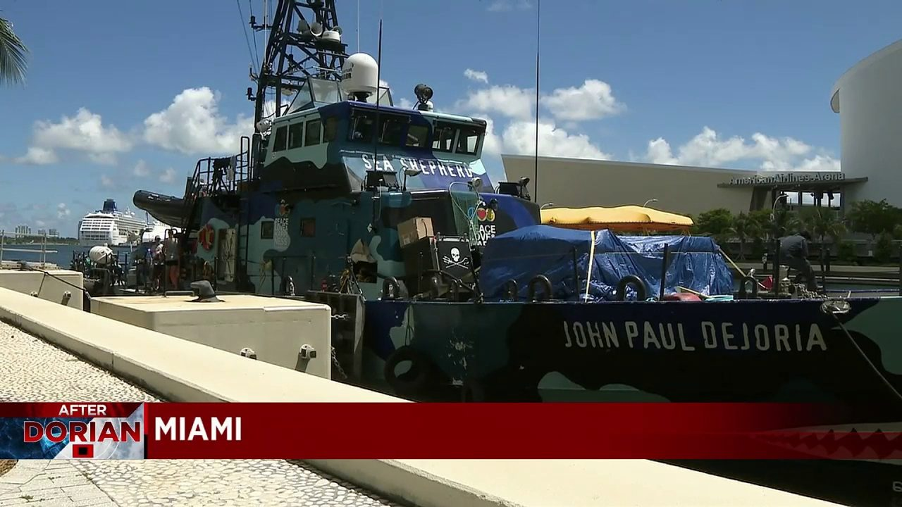 Boat that was once Coast Guard cutter heads to Bahamas packed with supplies
