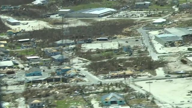 Evacuations from Bahamas ongoing as storm damage creates issues with…