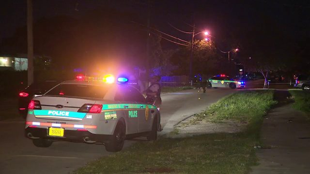 2 adults, child wounded in West Perrine drive-by shooting