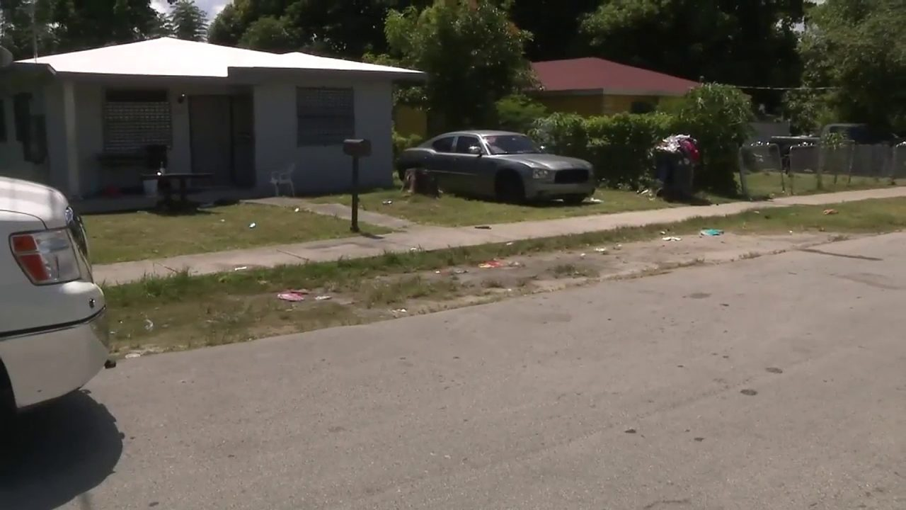 2 adults, teen wounded in West Perrine drive-by shooting
