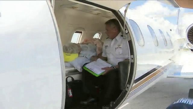 85-year-old South Florida resident stranded in Bahamas finally evacuated…